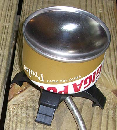 Snow Peak GigaPower LI Backpacking Stove (Outdoor Retailer Winter Market 2008) - 3