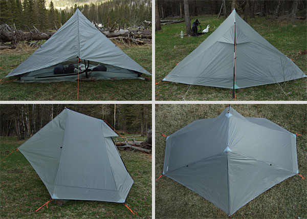 Gossamer Gear The One Shelter REVIEW Review - 2