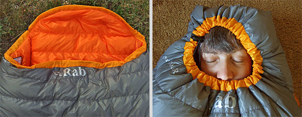 Rab Top Bag AR Sleeping Bag REVIEW Review - 3