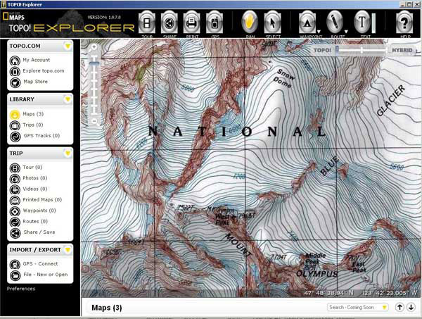 National Geographic TOPO! Explorer Mapping and Magellan Triton Series GPS (Outdoor Retailer Summer Market 2008) - 1