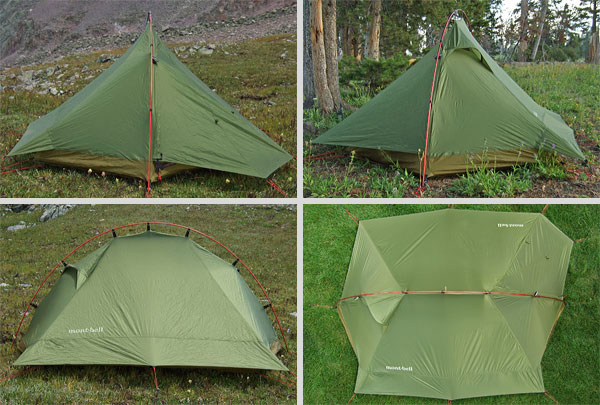 MontBell Crescent 2 Tent Review - 2 & MontBell Crescent 2 Tent Review - Backpacking Light