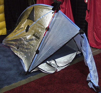 Ultralight Tent, Sleep System, and Tarps from Brooks-Range Mountaineering (Outdoor Retailer Summer Market 2009) - 1