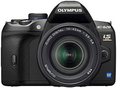 Olympus E-620 Digital SLR Camera Review - 1