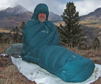 MontBell UL Spiral Down Hugger #3 Sleeping Bag Review - 1