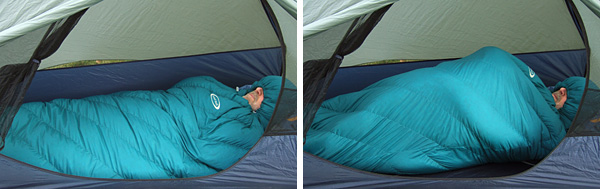 MontBell UL Spiral Down Hugger #3 Sleeping Bag Review - 3