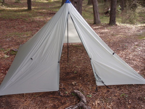 & MYOG: Silnylon Floorless 2-Person Tent - Backpacking Light