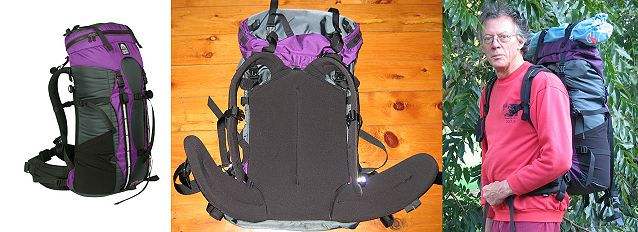 Granite Gear Escape AC 60, Granite Gear Vapor Flash Ki, and Granite Gear Nimbus Ozone Packs - 2