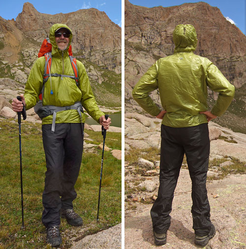 MontBell Tachyon Anorak and Dynamo Wind Pants Review - 2