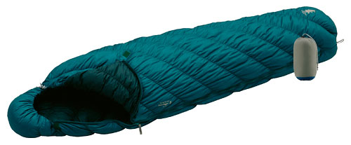 Montbell Ultra Light Super Spiral Down Hugger 3 Sleeping Bag Review 2