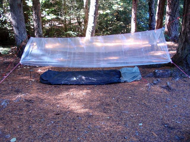Classic Pup Tent & MYOG: 3mil Plastic Tarps - Backpacking Light