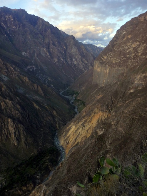 The Global Test:  Tall Tales from Colca Canyon, Peru - 1