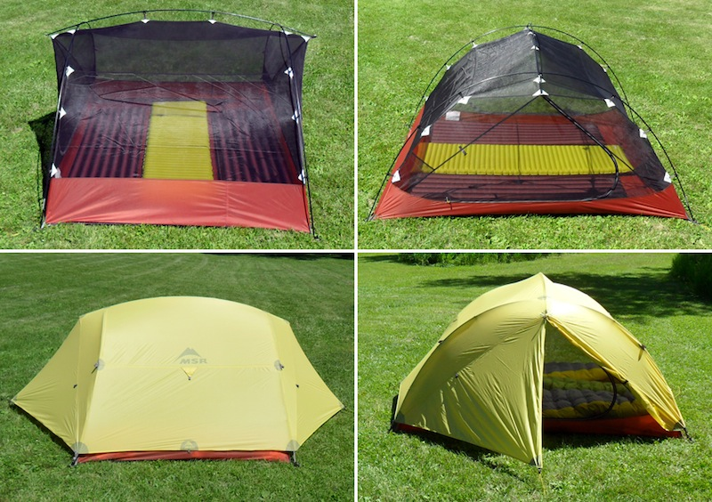 MSR Carbon Reflex 3 Tent Review - 2 & MSR Carbon Reflex 3 Tent Review - Backpacking Light
