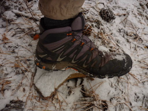 Light-Weight Mid-Height Trail Shoes: Salomon - 2