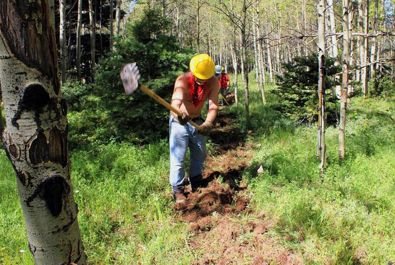 Continental Divide Trail Project Report: Hopewell Lake, NM, August 2011 - 6