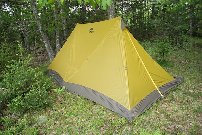 MSR Twin Brothers Review - 1 & MSR Twin Brothers Shelter Review - Backpacking Light