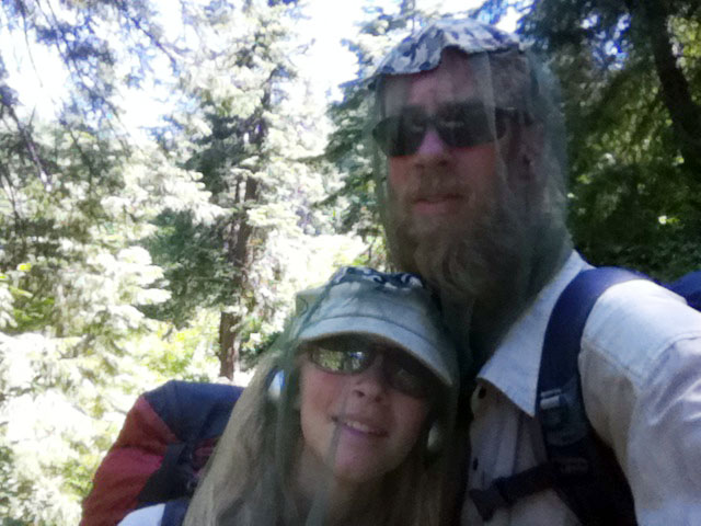 Sunshine in the Sierra Mountains on the PCT - 14