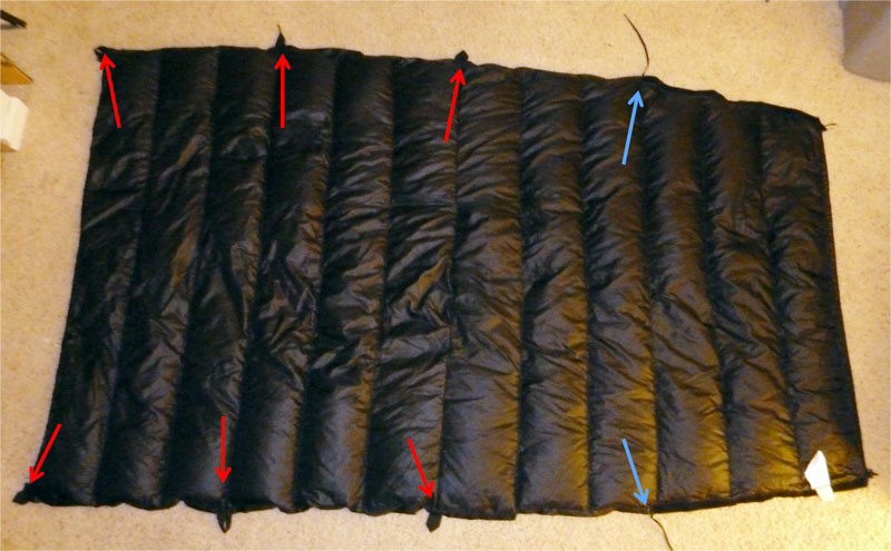 Jacks 'R' Better Sierra Stealth Quilt Review - Backpacking Light : jacks are better quilts - Adamdwight.com