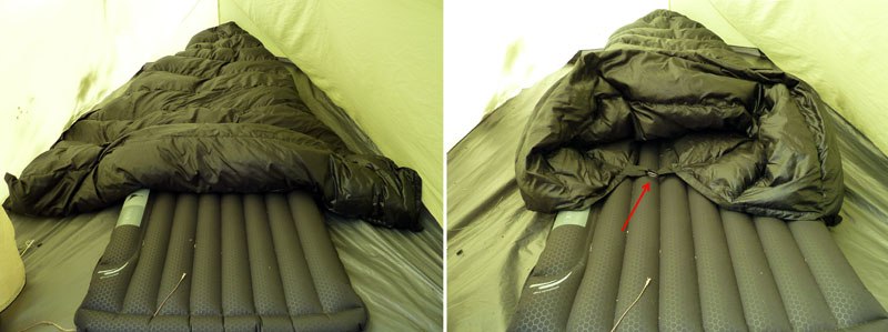 Jacks 'R' Better Sierra Stealth Quilt Review - Backpacking Light : wearable quilt - Adamdwight.com