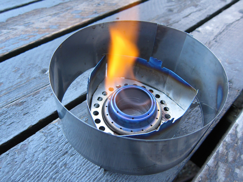 Clikstand T2 Alcohol Stove System Review - 1