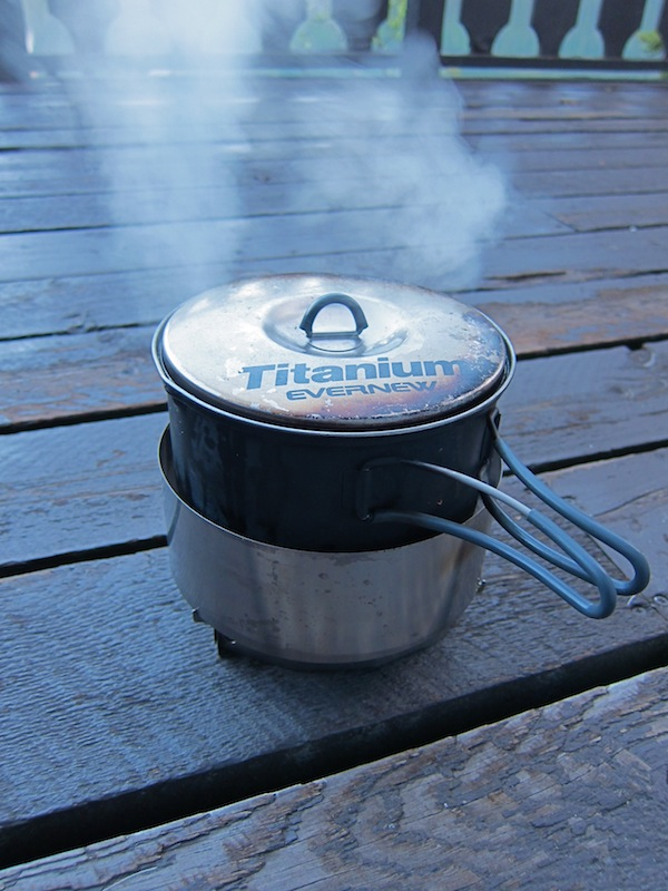 Clikstand T2 Alcohol Stove System Review - 2