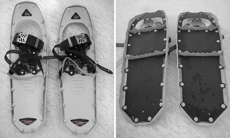 MSR Lightning Flash Snowshoe Review - 2