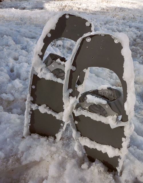 MSR Lightning Flash Snowshoe Review - 7