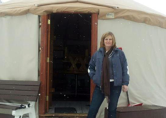 Indoor Girl Takes On a Yurt - 3