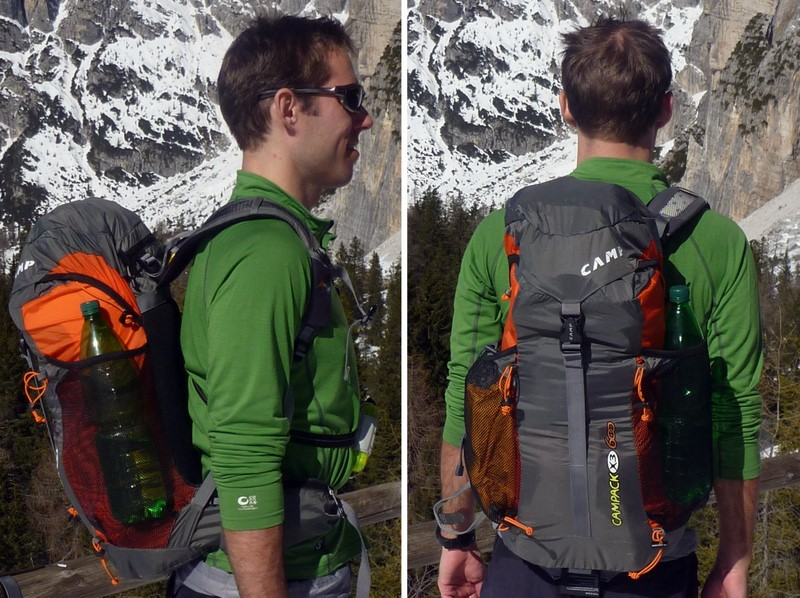 CAMP X3 600 Ski Pack Review - 1