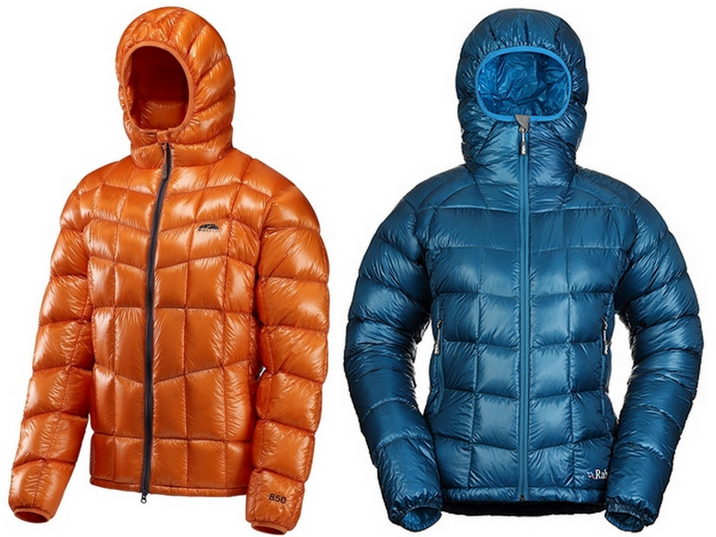 Down Jacket Shoot-out: GoLite Bitterroot vs. Rab Infinity - 2
