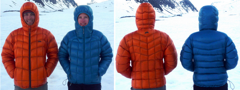 Down Jacket Shoot-out: GoLite Bitterroot vs. Rab Infinity - 3