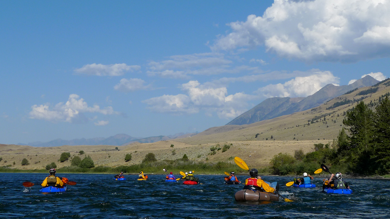 Yellowstone Packrafting - 17