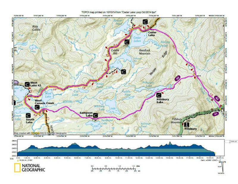 West Canada Lakes Wilderness Backpacking Light - Map of canada and lakes