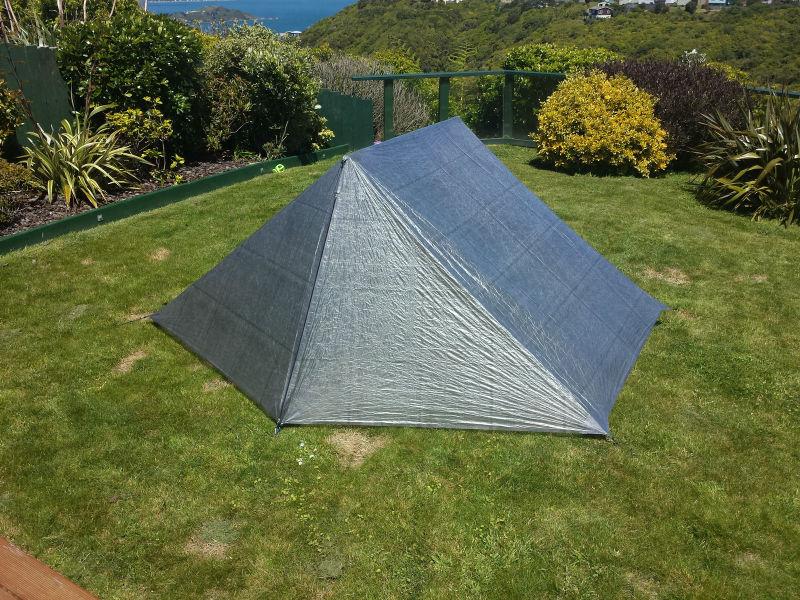 & Making a 2-man Cuben Fiber Tent - Backpacking Light