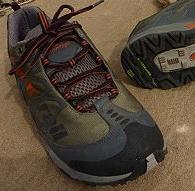 Lightweight Mid-Height Trail Shoes: Treksta