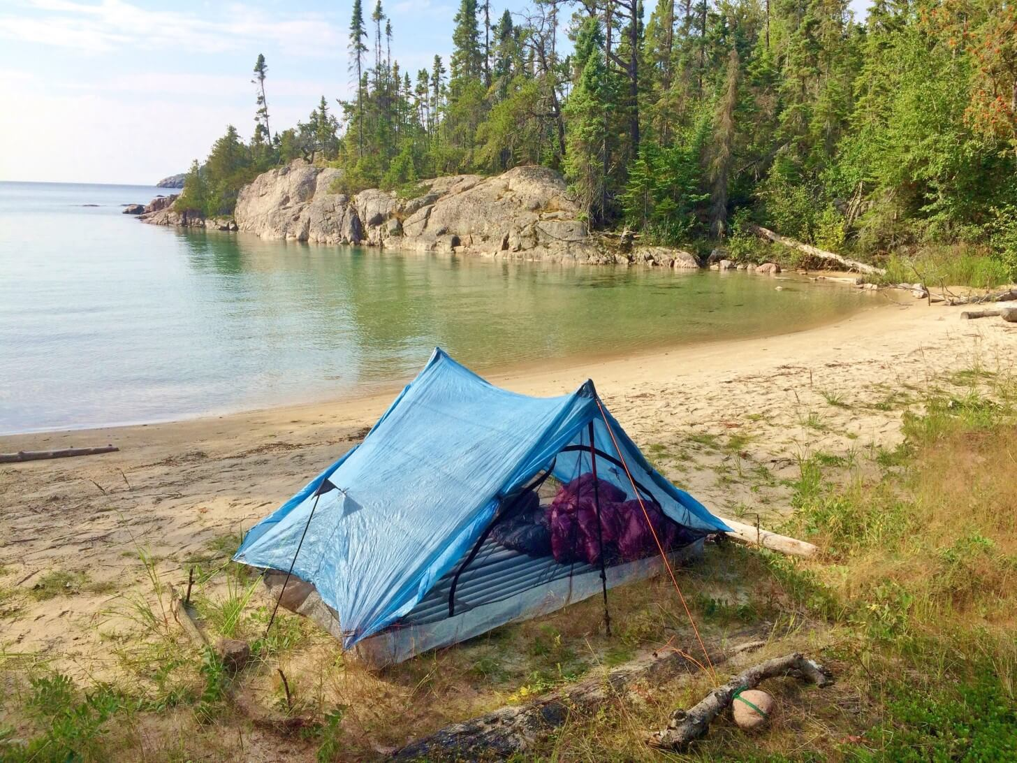Fisherman's Cove Pukaskwa National Park Coastal Trail, Lake Superior