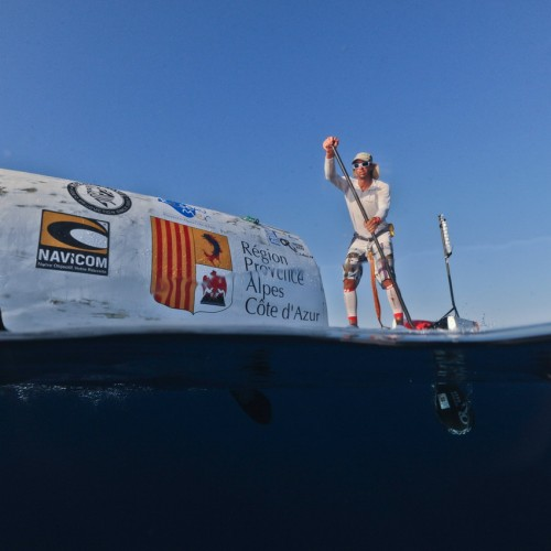 Nicolas Jarossay Transatlantic SUP Expedition Pod