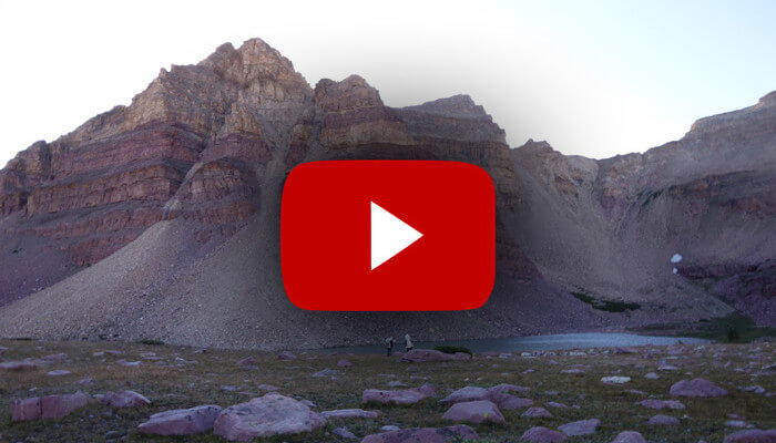 Lightweight backpacking, core principles video
