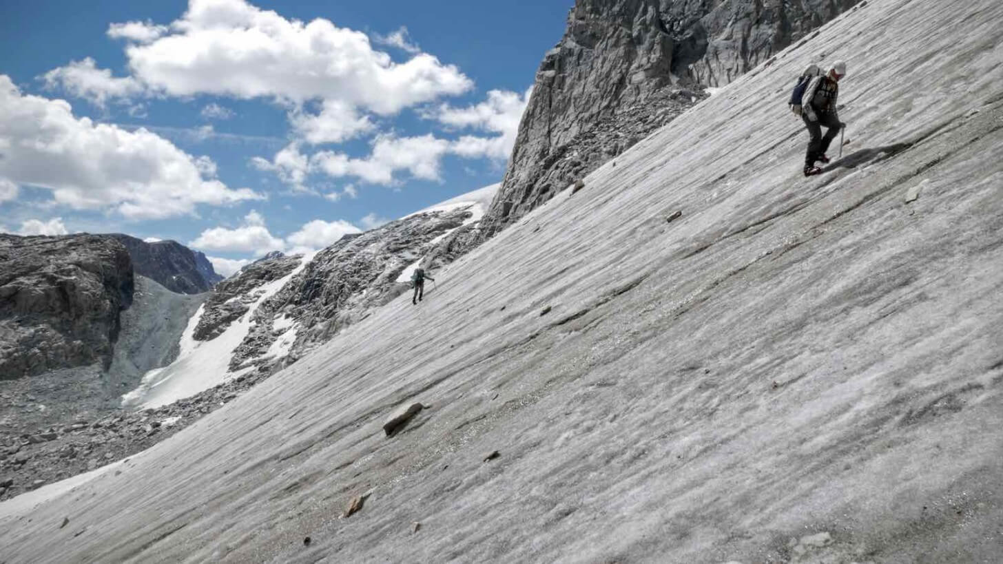 Gannett Klondike Glacier Complexes Crew One Wind Rivers Summer 2015 Expedition