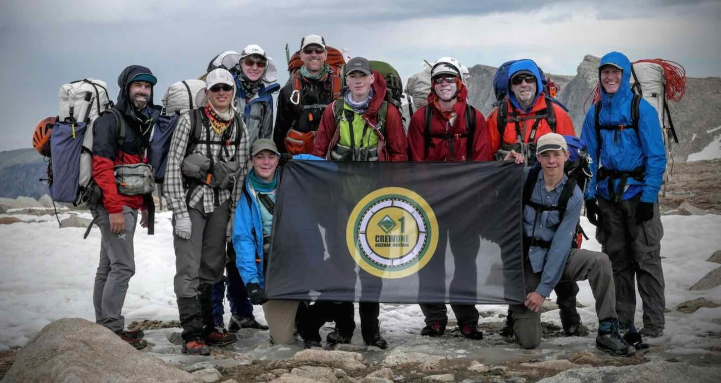 Wind River Crest Crew One Wind Rivers Summer 2015 Expedition