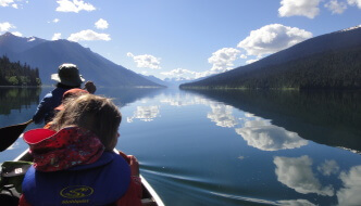 "<span class=""membersonly""></span> Bowron Lakes Canoe Trek: Family Paddling with Kids in Lightweight Style"