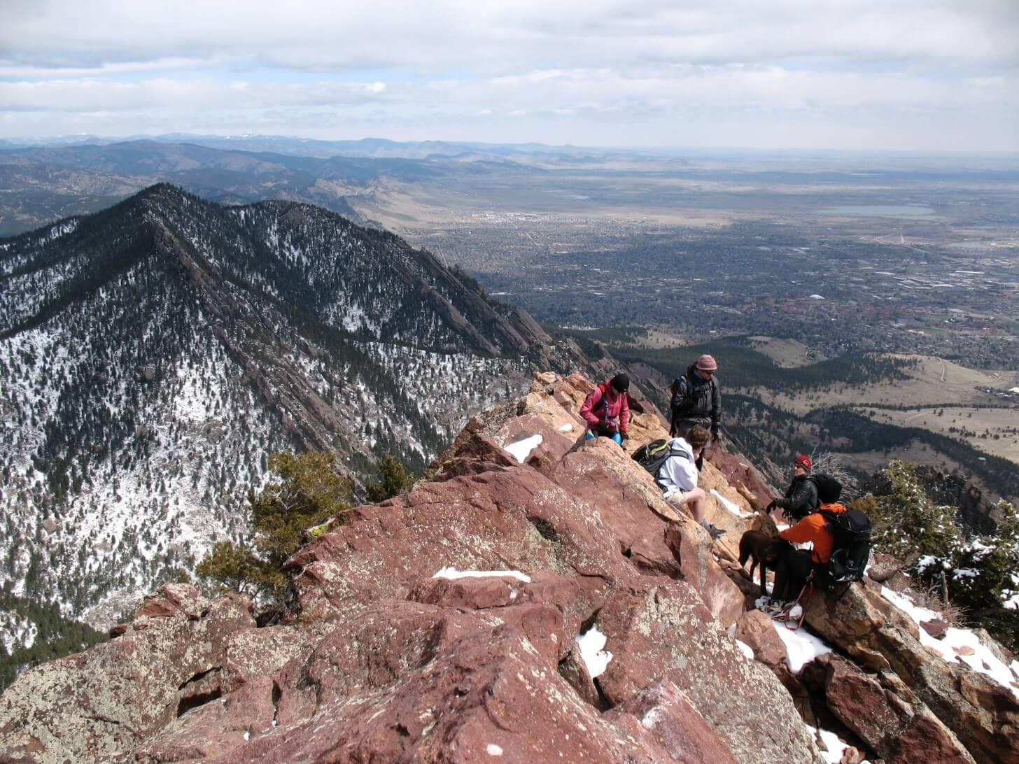 Bear Mountain, Boulder Open Space, Colorado, Faces Interview Paul Magnanti