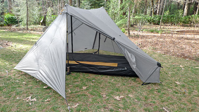 TarpTent Stratospire 1 Review - Tent with mesh inner.