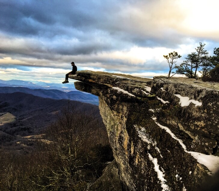 McAfee Knob, Virginia, Jeff Garmire, Completing the Triple Crown, One Year