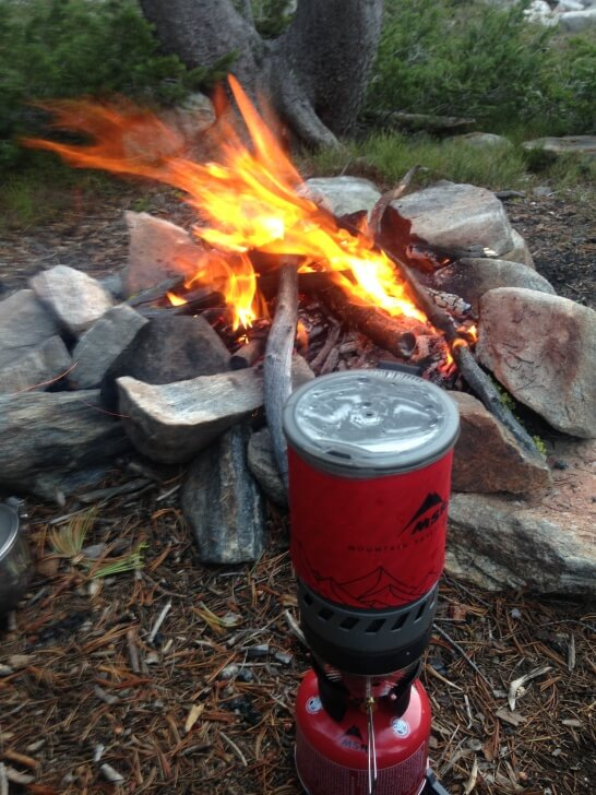Boiling Water, Hidden Lakes, Vann MSR WindBurner Stove System Review