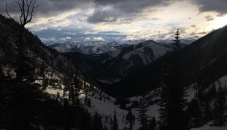 "<span class=""membersonly""></span> Winter Hiking Arrastra Creek Montana: Snowcaves and Sleds in the Absaroka-Beartooth Wilderness"