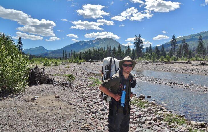 Hyperlite Mountain Gear Porter 4400, Packrafting, Bob Marshall Wilderness, How to Make Your Own Lightweight Backpack Luke Schmidt