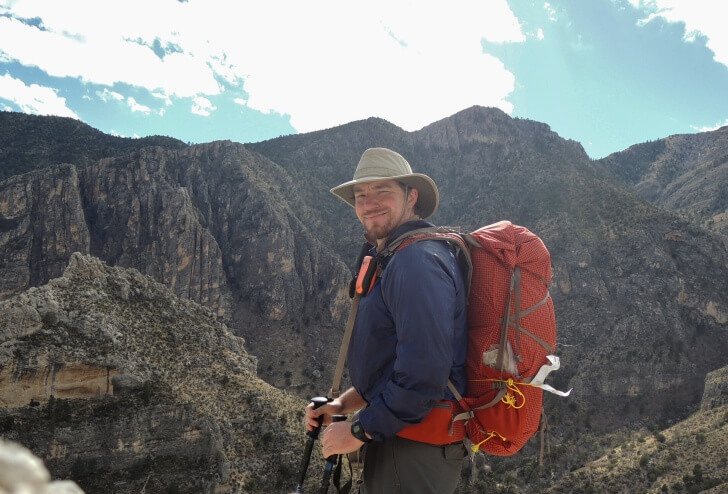 Exped Lightning 60, Guadalupe Mountains, How to Make Your Own Lightweight Backpack Luke Schmidt