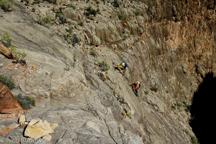 Class 5 Scramble, Rudow Grand Canyon's Rim Traverse News Story