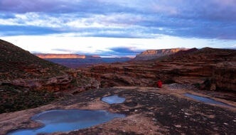 Early Morning, Rattlesnake Canyon, Rudow Grand Canyon Traverse News Story
