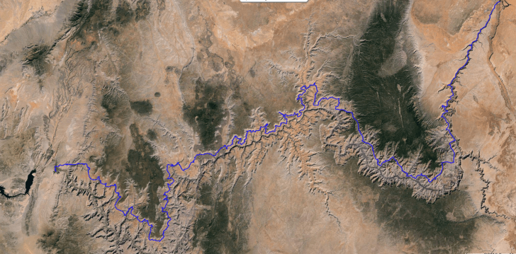 Route, Rudow Grand Canyon's Rim Traverse News Story